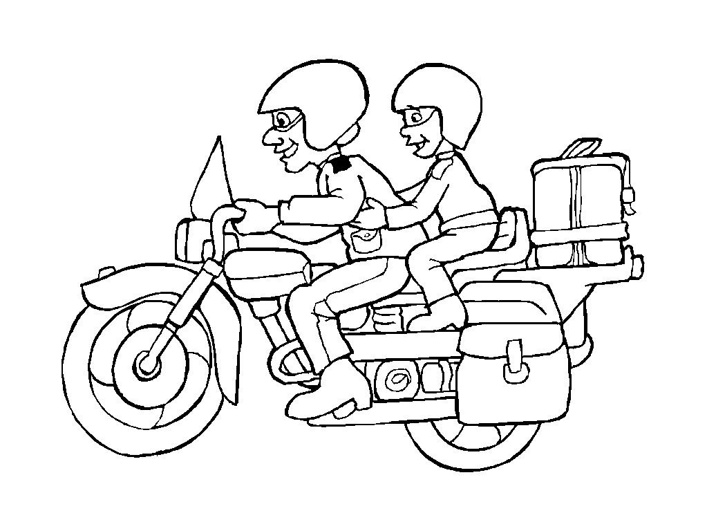 012 pobarvanke - Moto a imprimer pour colorier ...