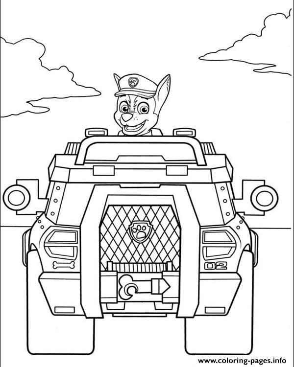 Paw Patrol Pobarvanke Za Otroke